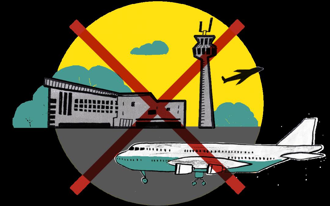 Appel à limiter les liaisons aériennes en France et vers l'Europe