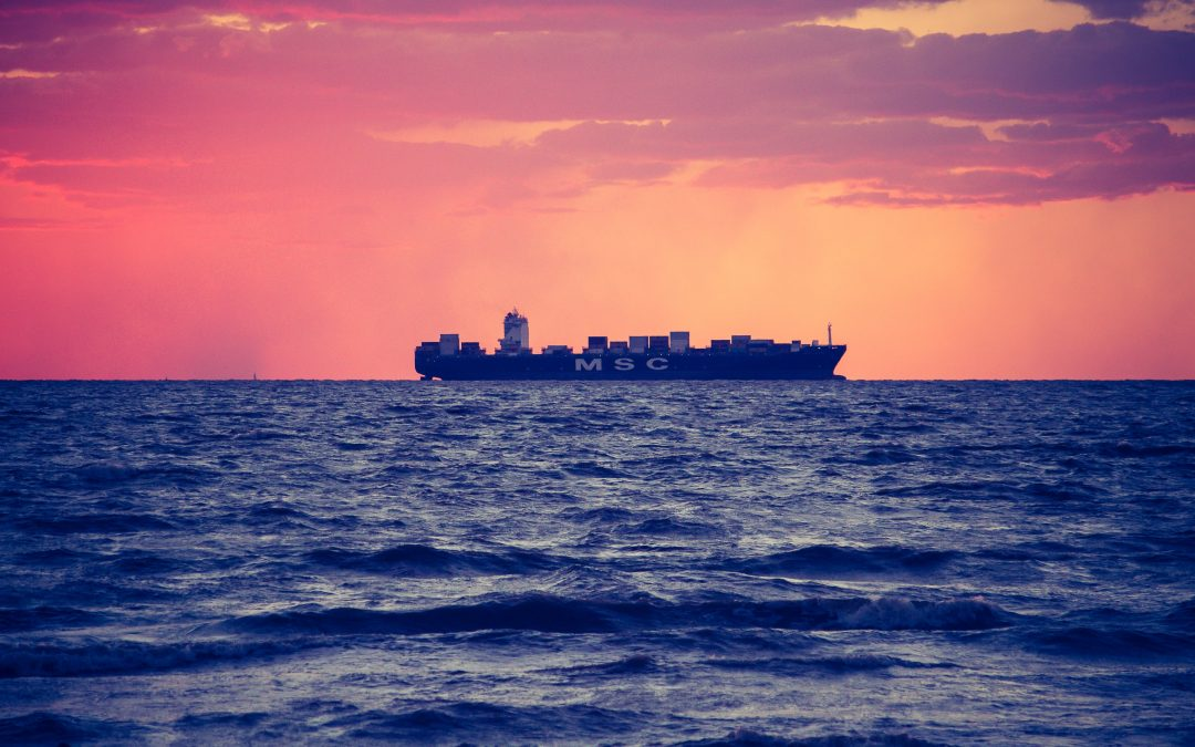 Traveling by cargo ship: climate-friendly alternative or not?