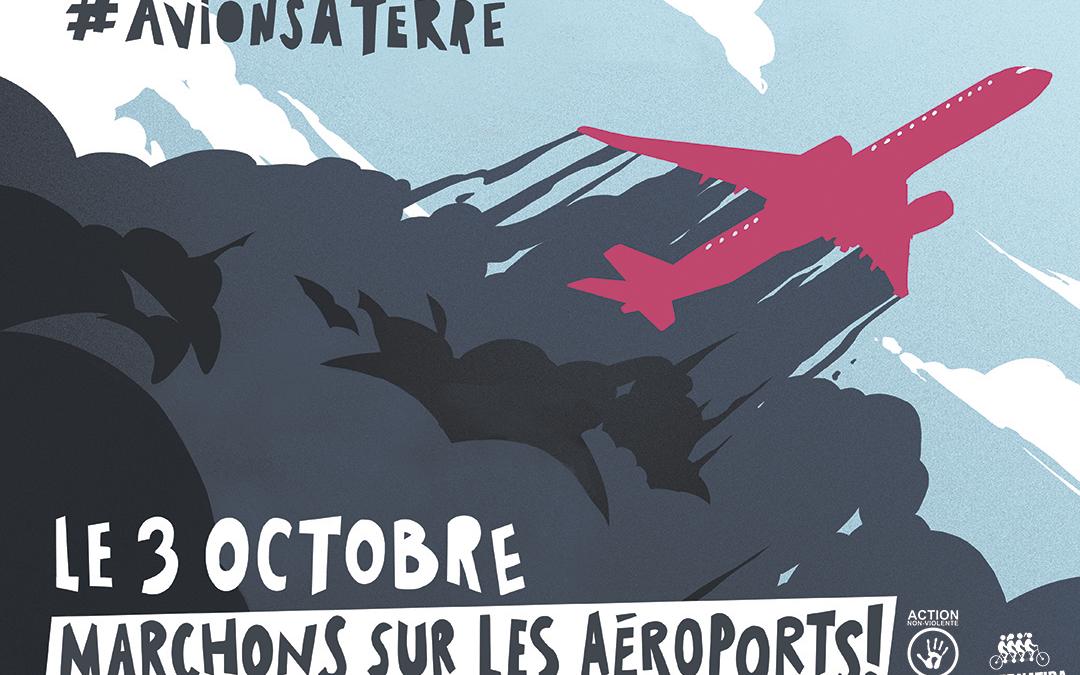 Le 3 octobre, marchons sur les aéroports !