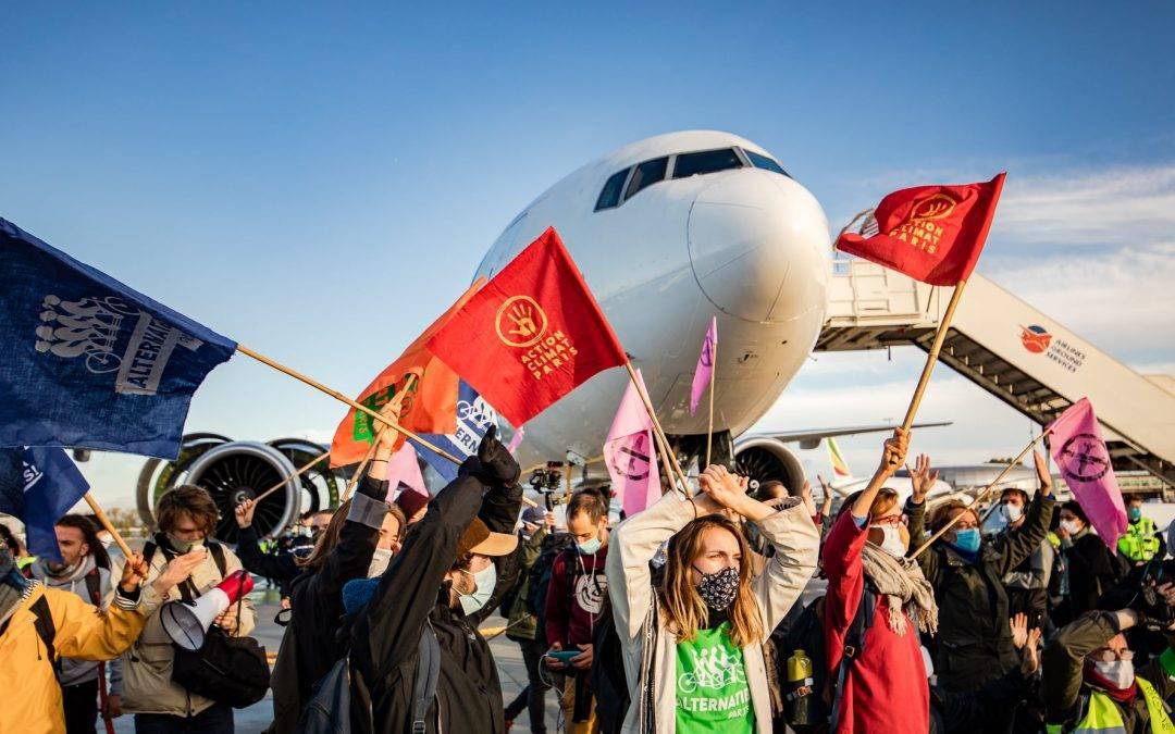 #AvionsATerre : manifestations dans 18 aéroports français