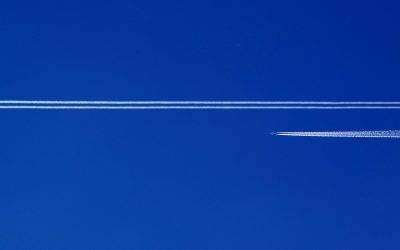 Notre réaction au rapport de l'Union européenne sur les impacts climatiques hors CO2 du transport aérien