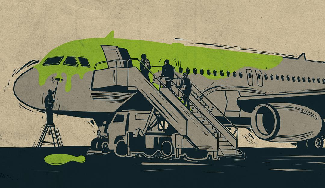 L'industrie aéronautique nous ment : non, l'aviation ne sera pas décarbonée en 2035 !