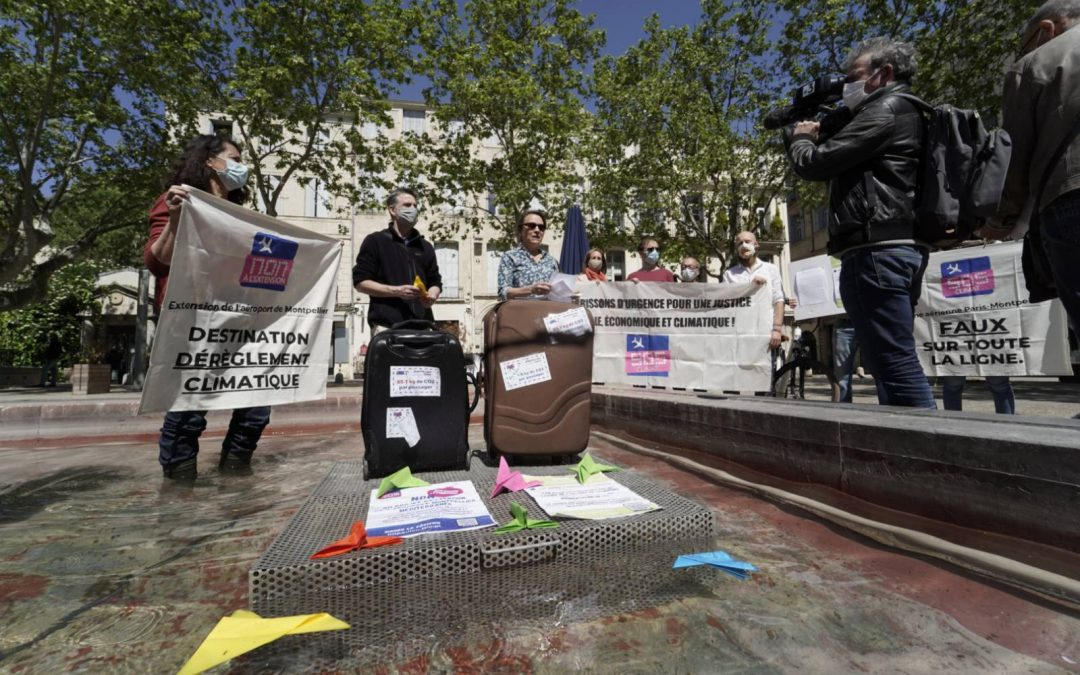 Montpellier : le monde de la recherche se mobilise pour réduire ses voyages en avion