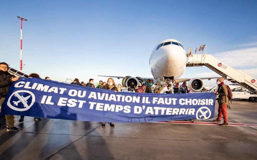 Aviation : les demandes de la Convention citoyenne lessivées par la loi Climat et résilience
